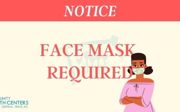 Face Mask Required at CHCSCT